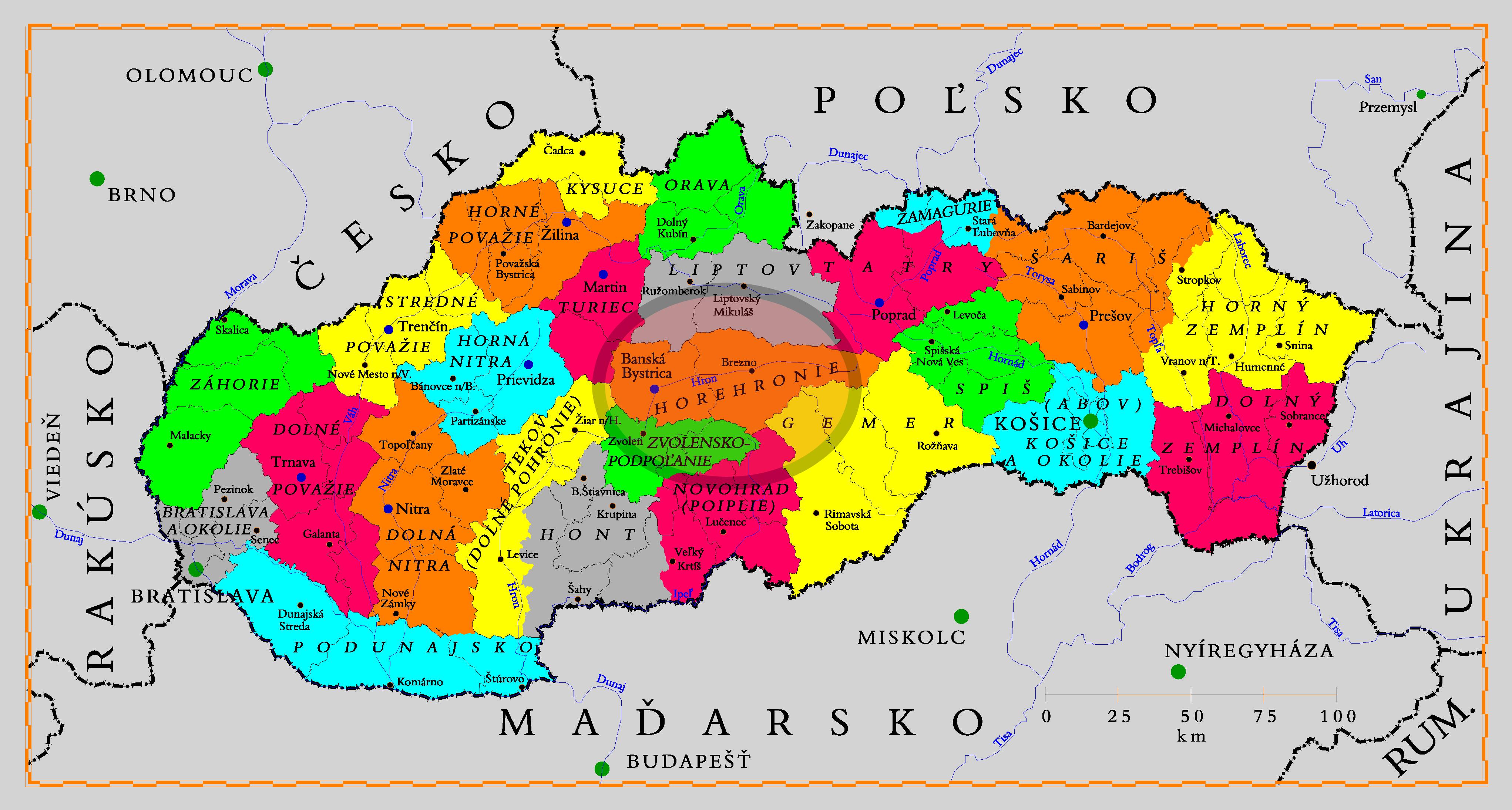 mapa-regionov-horehronie